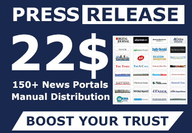 Press Release Distribution ON 150+ NEWS Websites Top Ranked NEWS Websites