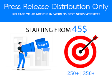 PRESS RELEASE DISTRIBUTION ON 250+ NEWS WEBSITES TOP RANKED NEWS WEBSITES