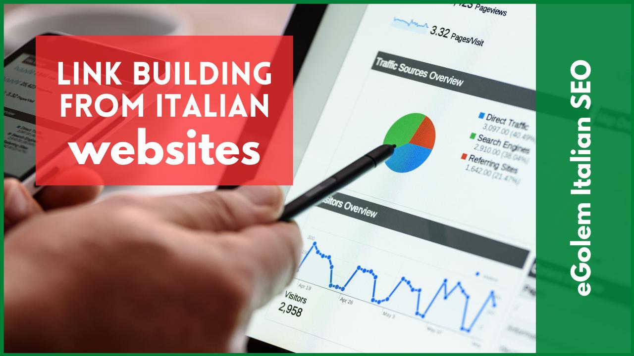 Link Building from Italian Websites