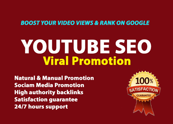 do fast youtube video promotion SEO backlinks