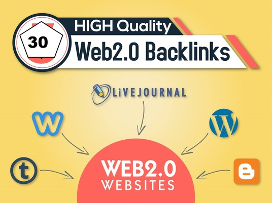 I will create manually 150 web 2.0 Backlinks,  SEO link building