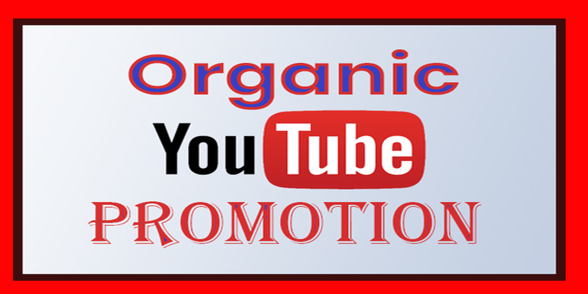 I will do Real High Quality Youtube video promotion via google seo