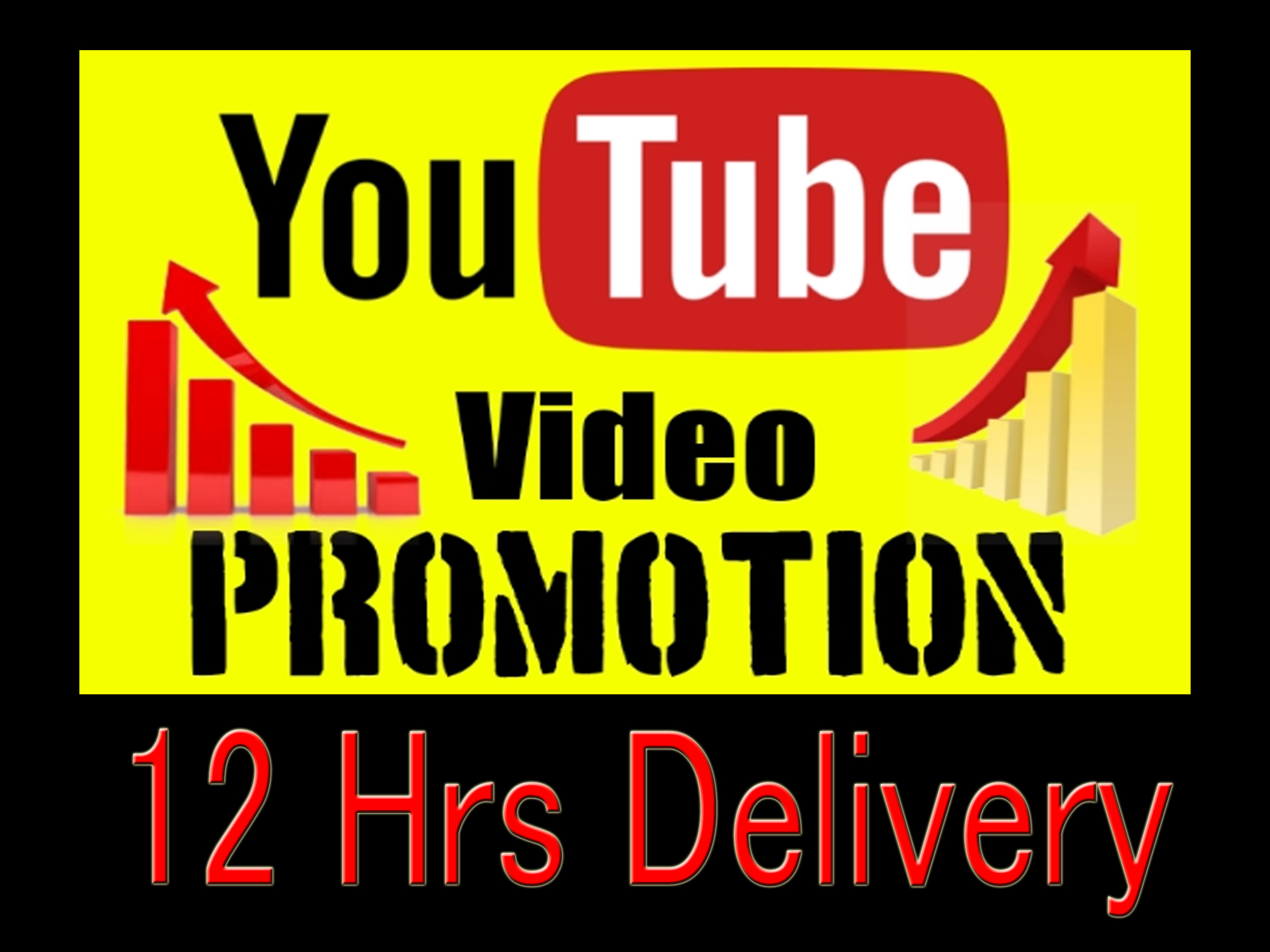 Organic Lifetime guaranteed Youtube video promotion and social media music marketing 5hrs delivery