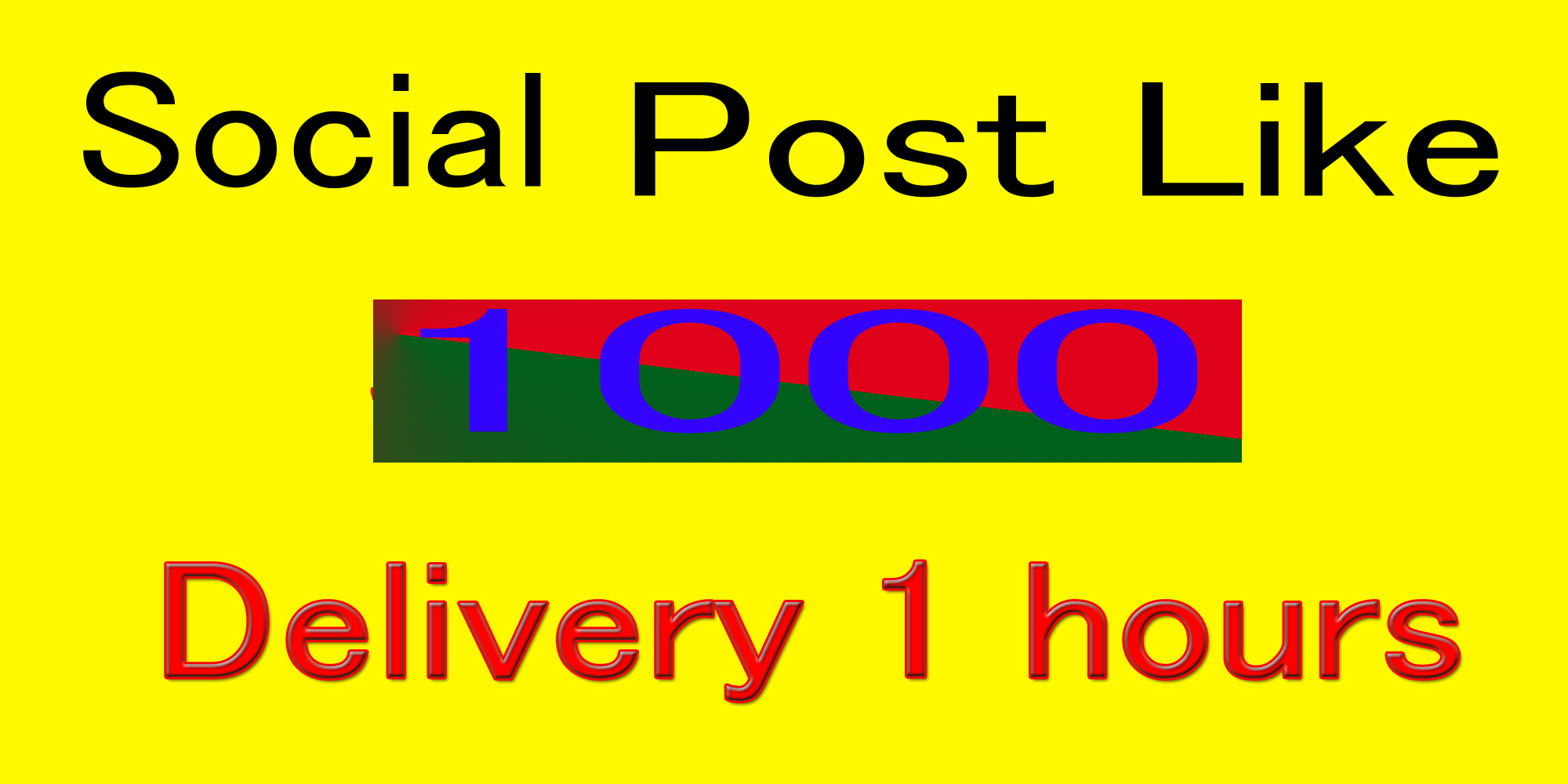 Instant 1000- 1200 Start Social Pictures Post Promotion and Marketing in 10 min.