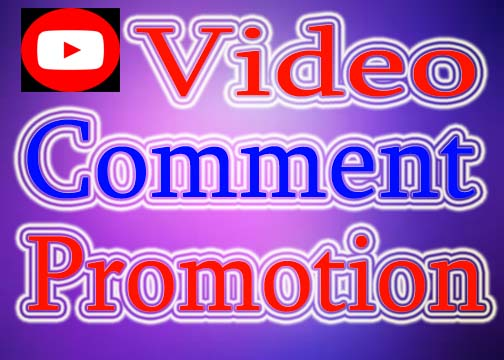 Manually YouTube Video Comment Promotion USA Profile User