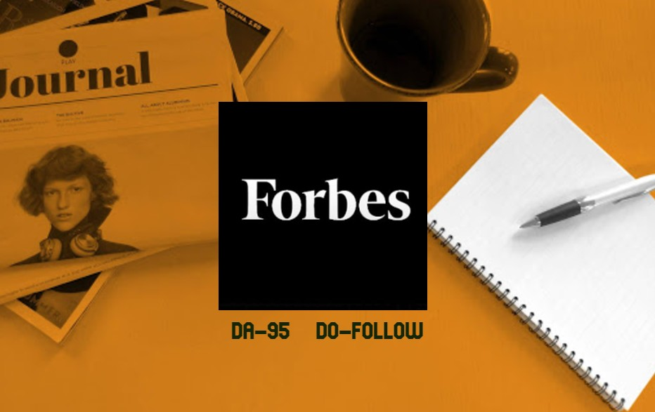 Ultra-powerful Do follow Backlinks from the giant Forbes
