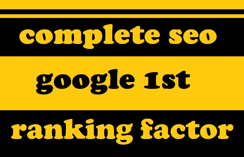 Top rank and complete seo optimization for your websi...