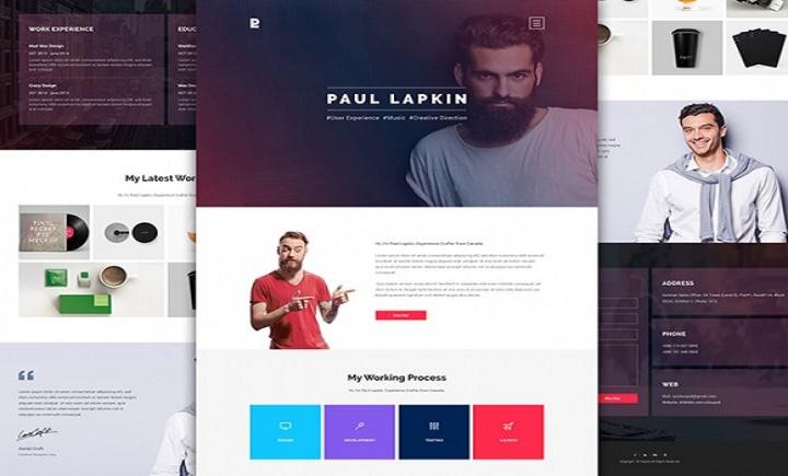 I will build a personal WordPress website