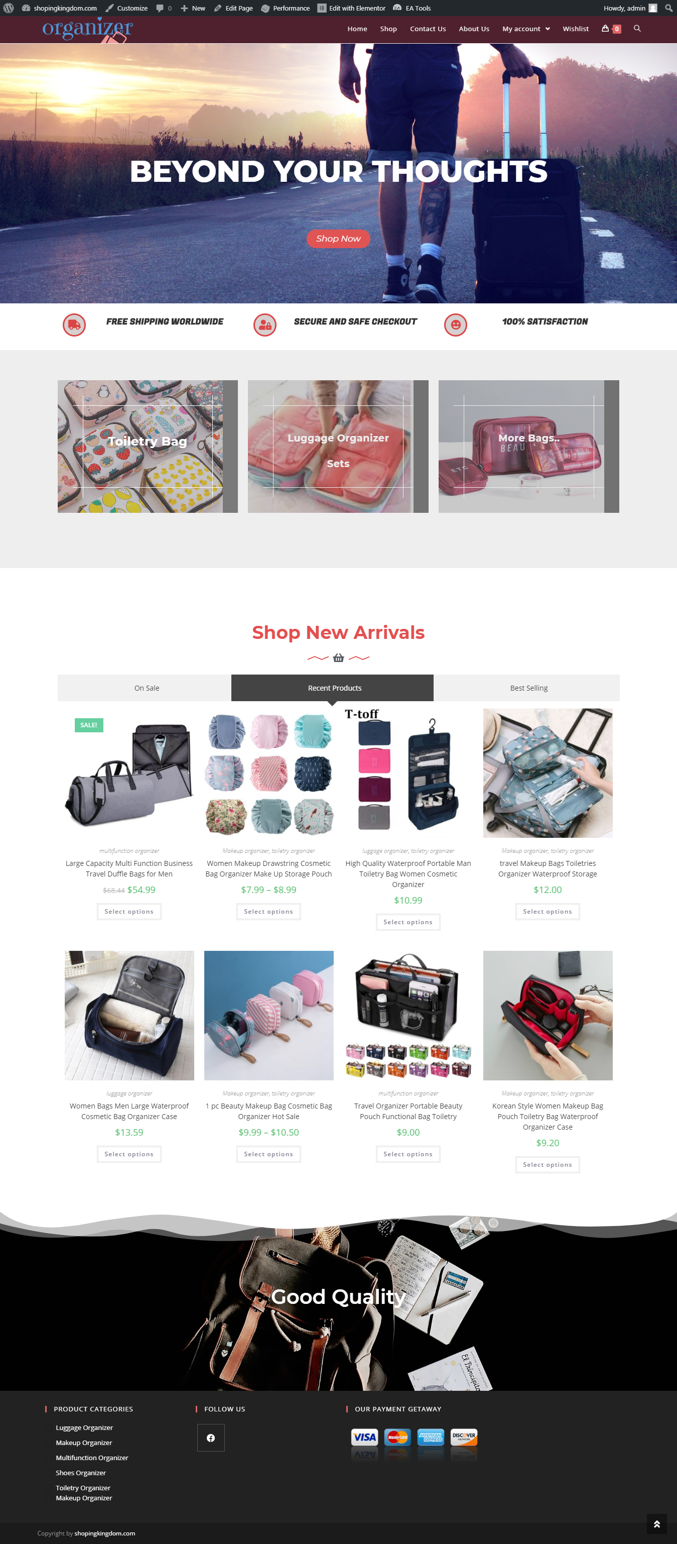 Build A Professional And Responsive ecommerce Website