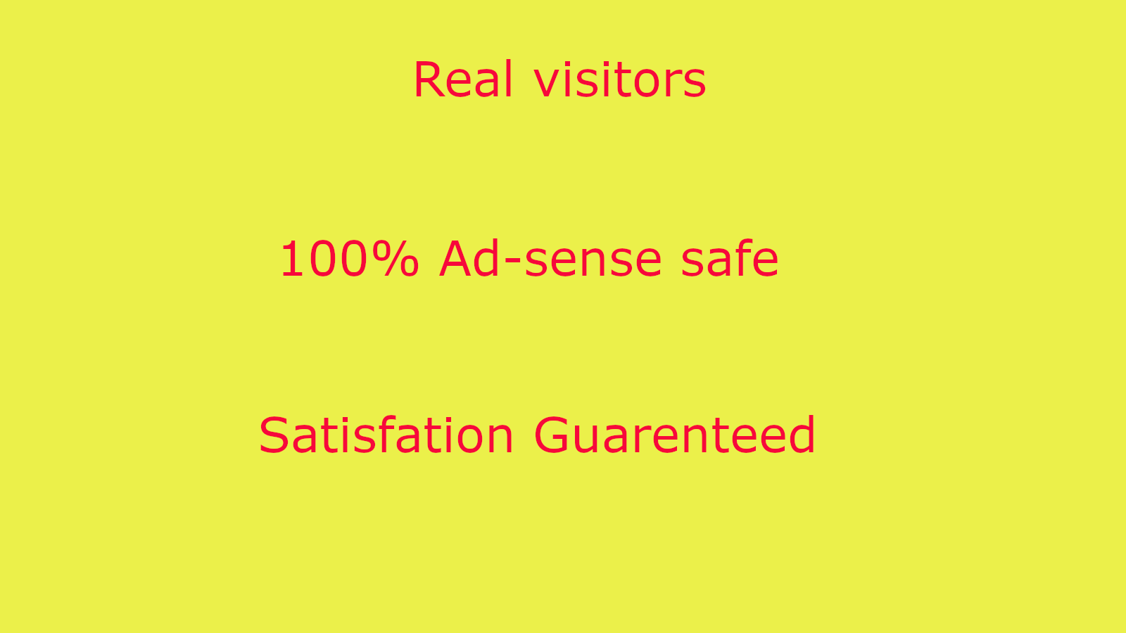 TARGETED 10,000 real Reach Audience to your website