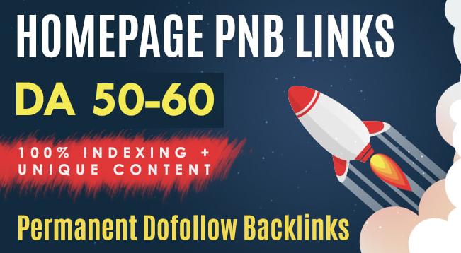 I will Provide 10 dofollow seo backlinks on upto DA 60 plus sites