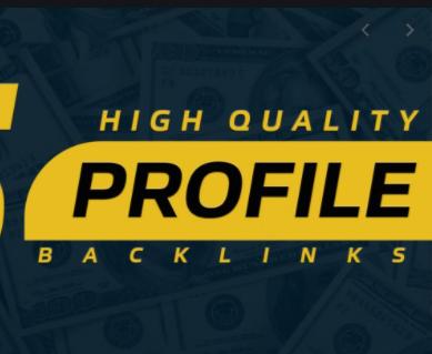 I will do 199 high DA profile backlinks manually for SEO ranking