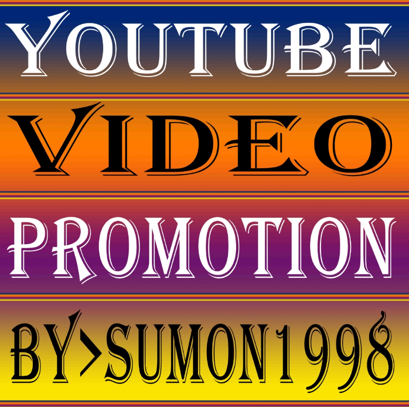 YouTube Video promotion Social Networks Marketplace Real Active User