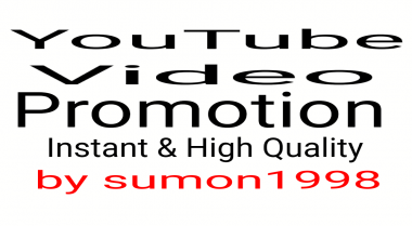 YouTube Video promotion Social Networks Marketing