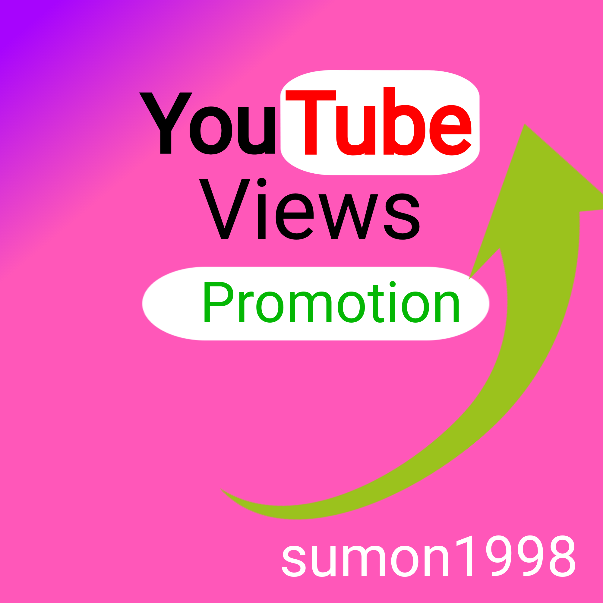NON DROP YouTube Video promotion Marketing with Lifetime Non Drop Guaranteed