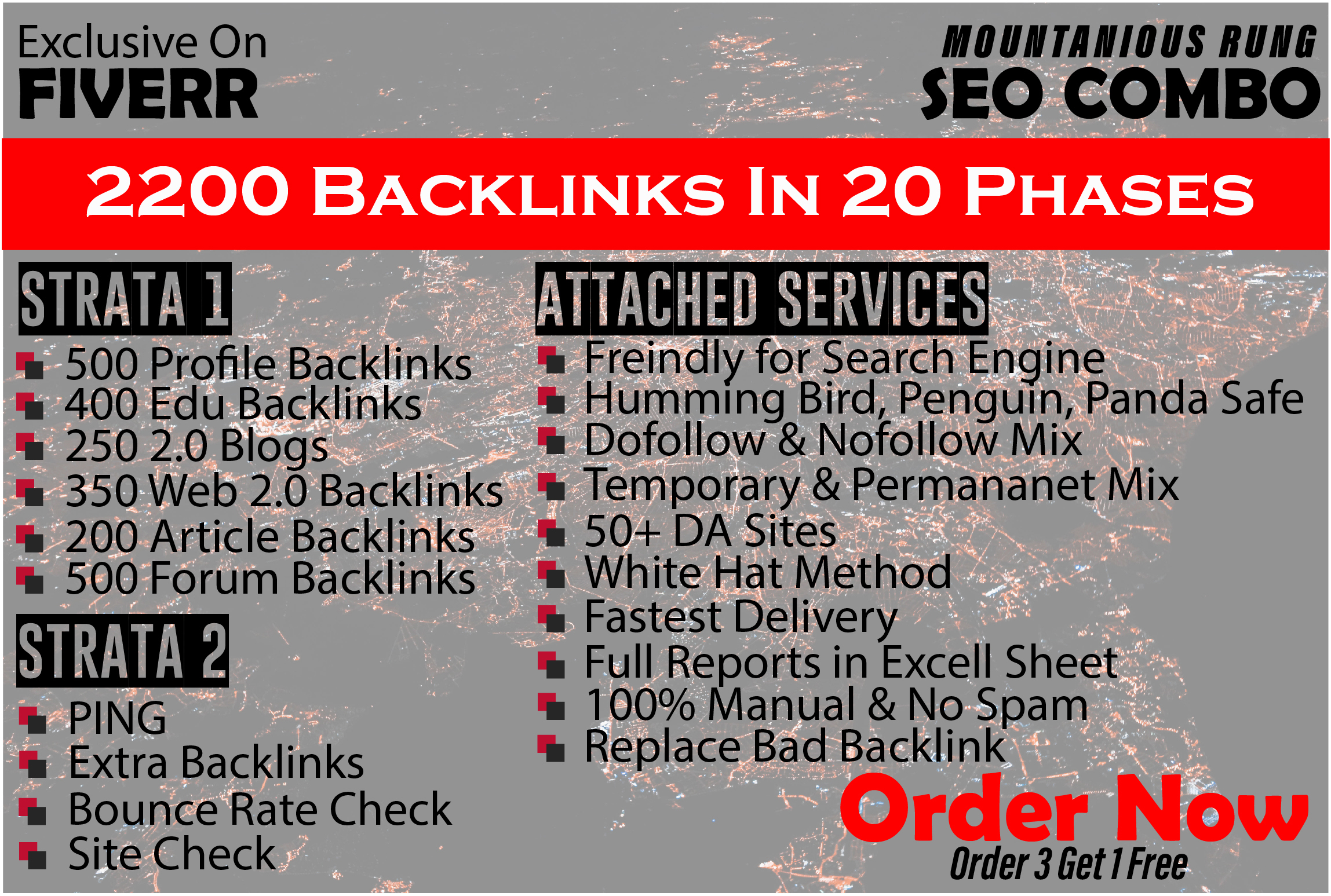 I will provide best SEO backlink service on white hat method