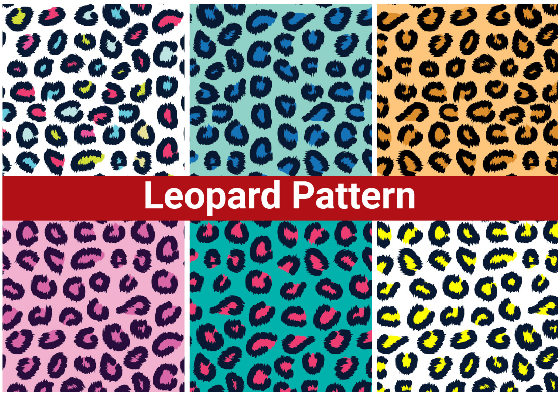Ieopard animal seamless repeat pattern for your fabric