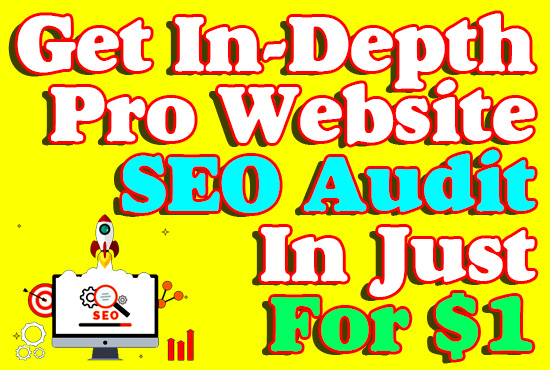 Get In-Depth Pro Website SEO Audit Report With PDF File