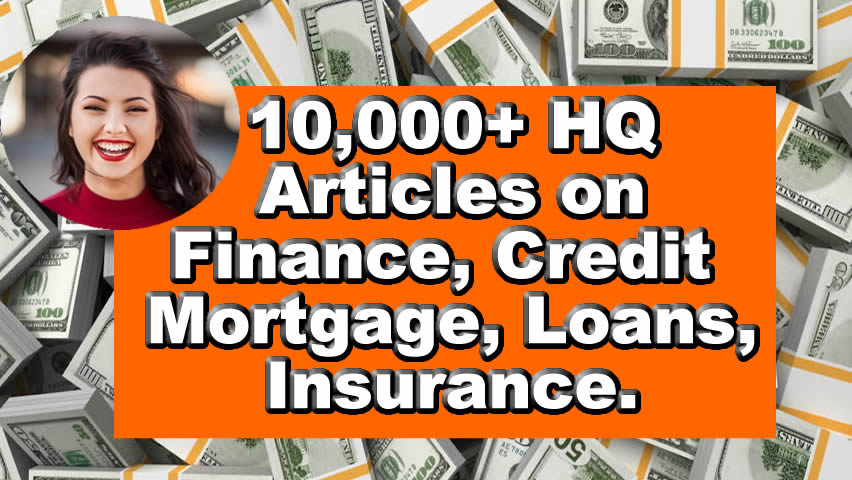 Receive 10,000 plr articles on credit,  finance,  insurance,  mortgage