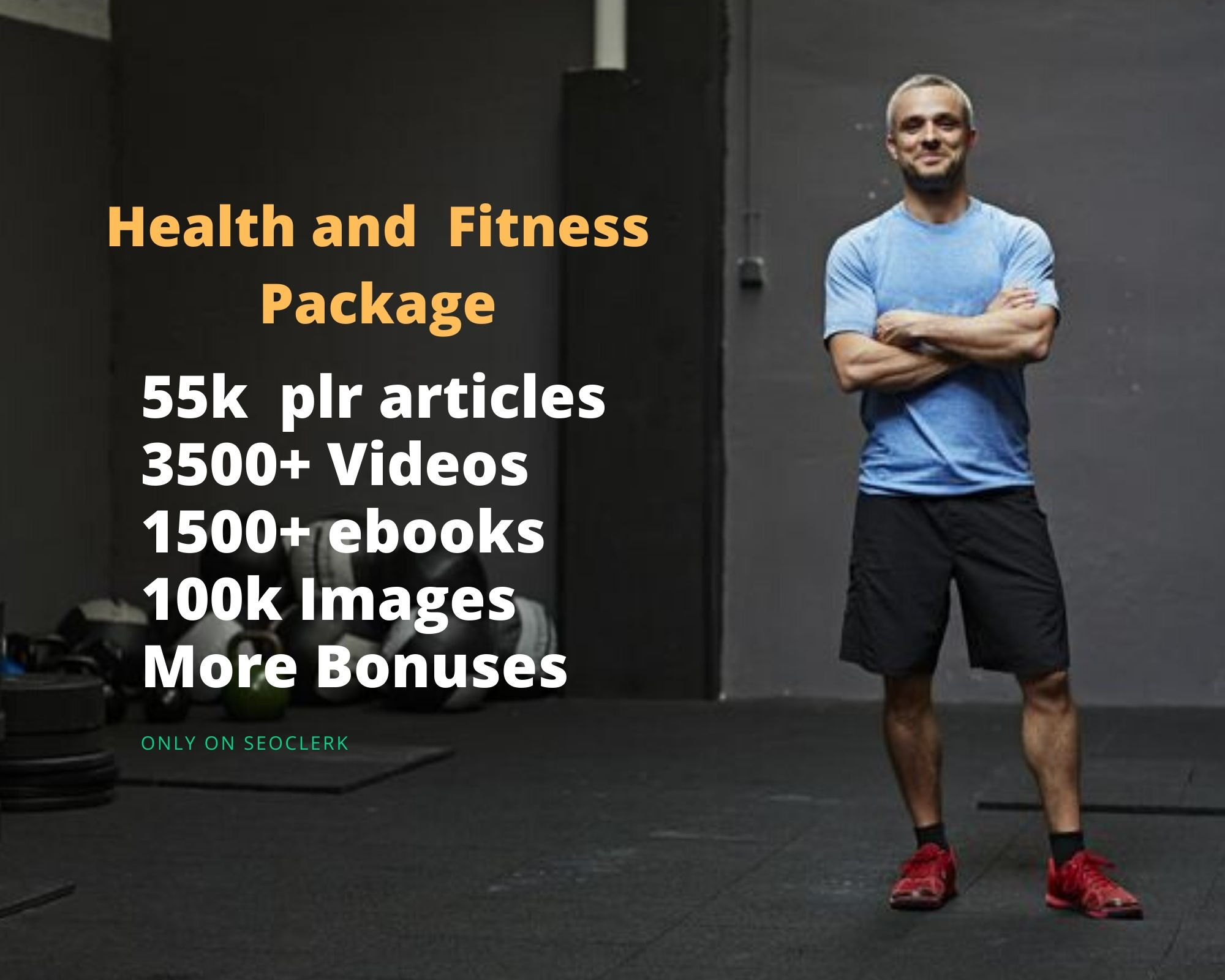 health and fitness plr articles ebooks videos images