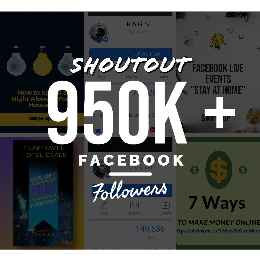 Promote Your Any Post to my 950,000+ Page