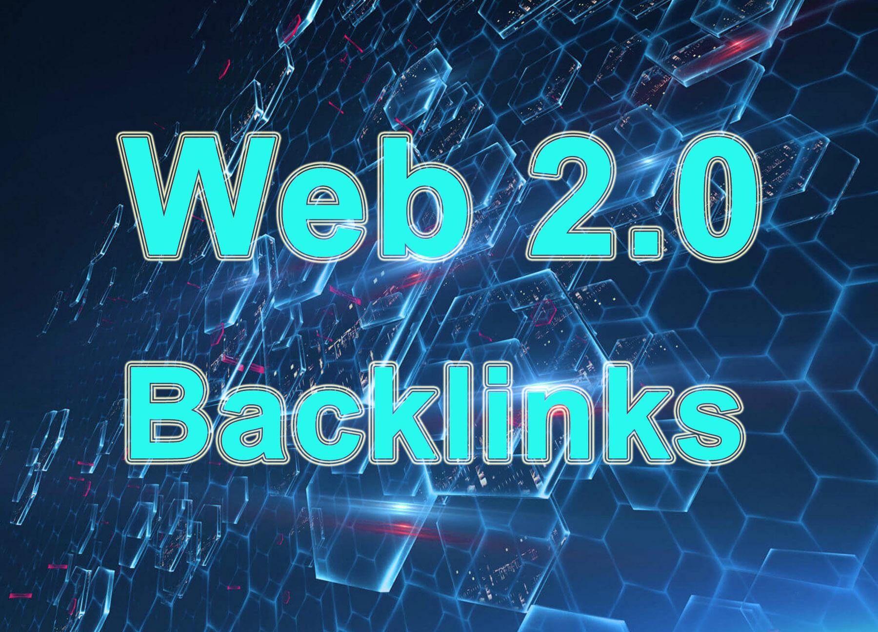 100 web 2.0 backlinks for SEO promotion