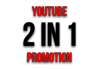 Promotion of YouTube 2 in 1. Organic