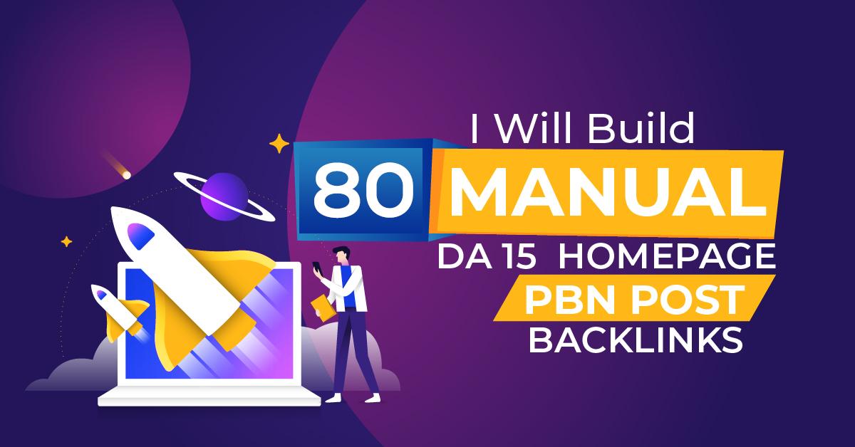 I will 80 high metrics powerful PBN contextual backlinks