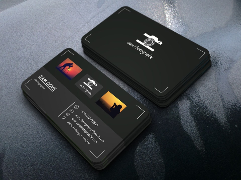 design attractive business card within 24hr