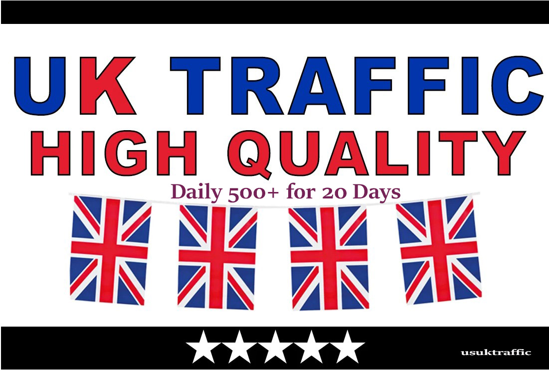 10000 UK TARGETED REAL Web Traffic to your web or blog site