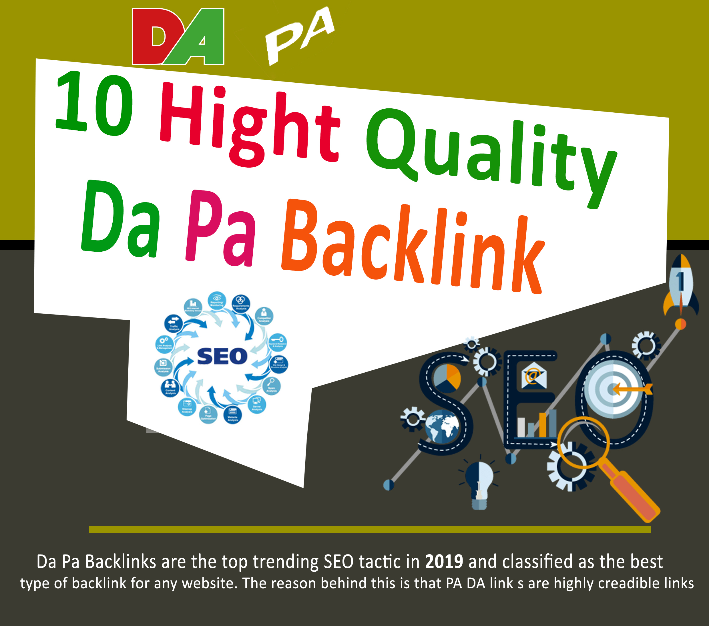 I will Create 50 Manual Dofollow Seo Backlinks With High Da Pa