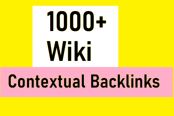 Create 1000+ high quality wiki articles contextual backlinks