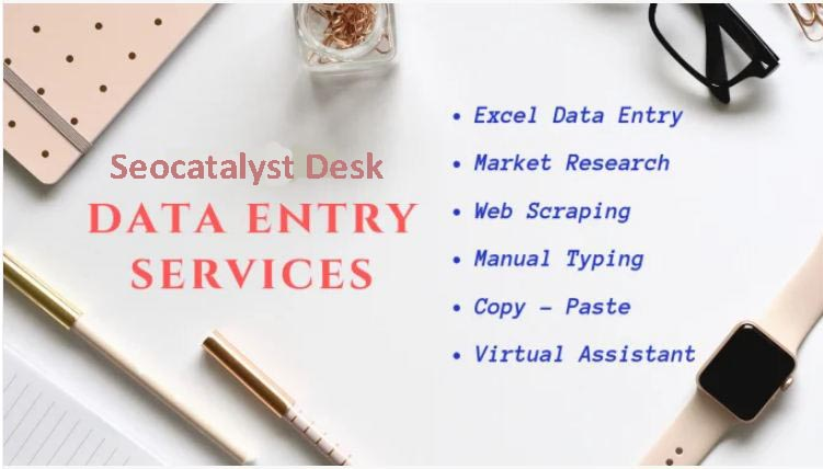Provide a complete any type of data entry work for you