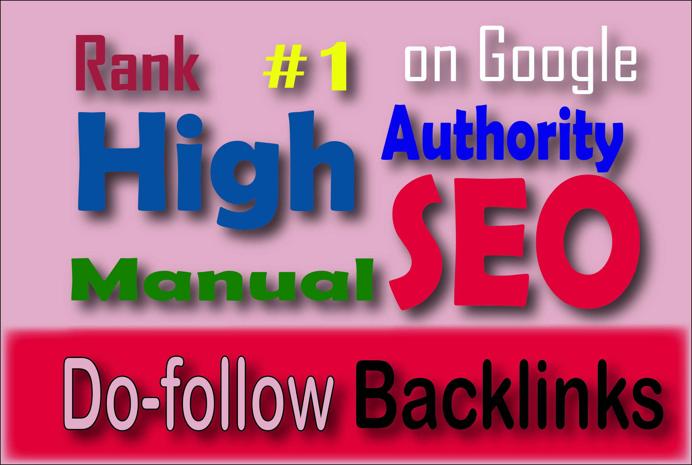 RANK BOOSTER SEO with high authority dofollow seo backlinks