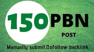 Manually Do 150 PBN On High Quality Dofollow SEO Bakclinks