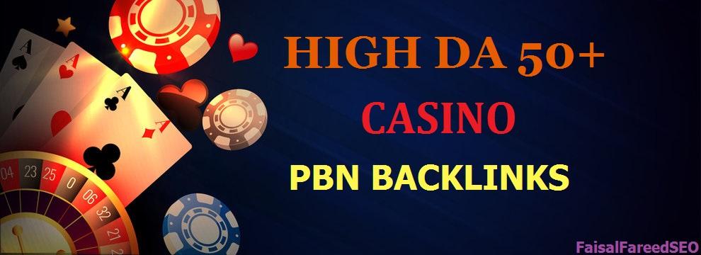 50 Powerful PBN Backlinks Special Casino Poker