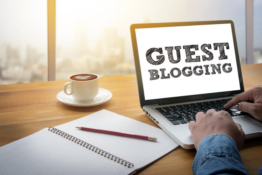 Write and publish guest post on high authority sites