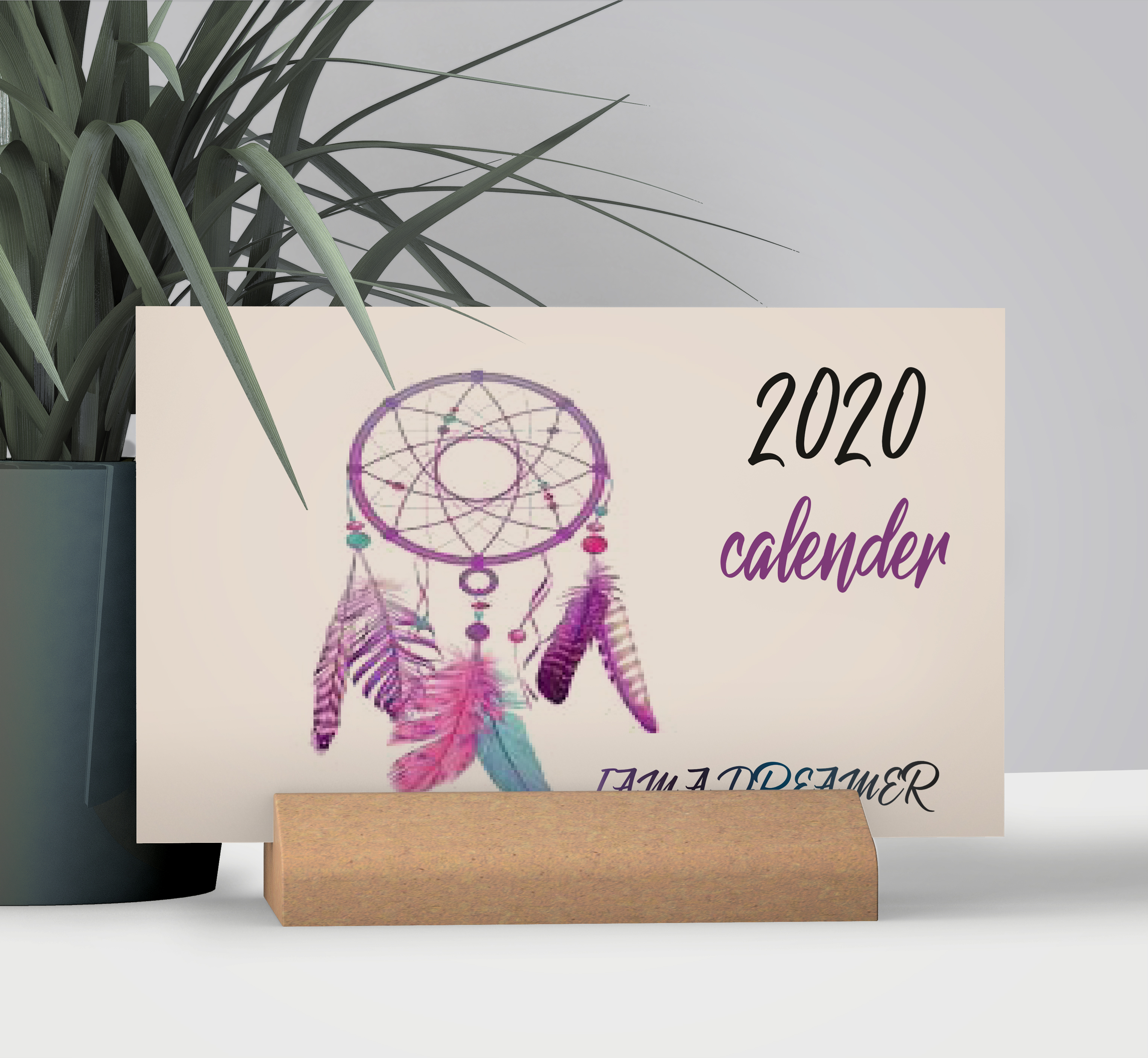 Modern 2020 CALENDAR personnel or for your business