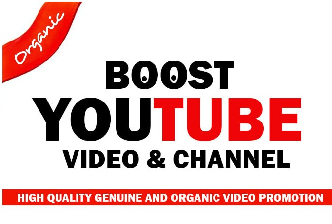 Organic YouTube Video Promotion Real people seeing your video Advertise