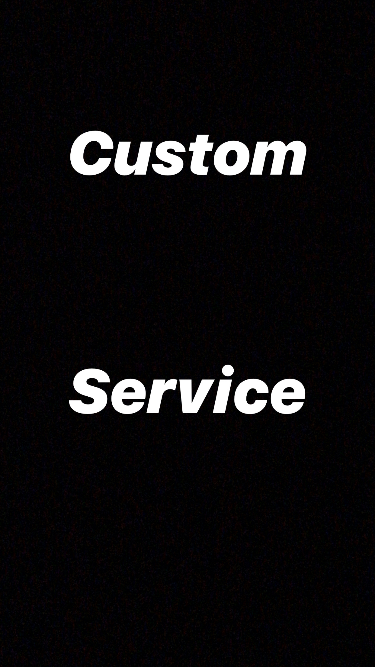 Quick Delivery Custom Service Order For My regular Clients