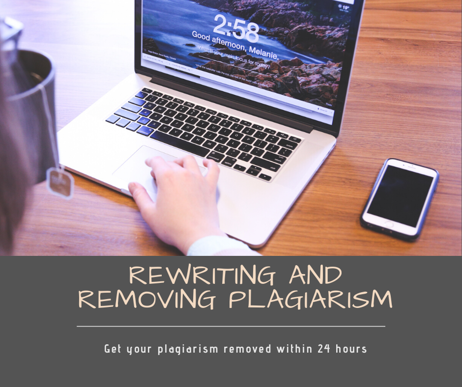 Rewrite and remove plagiarism from 400 words within 24 hours