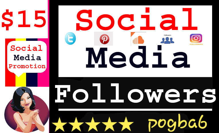 I provide Social Media Profiles Followers Promotion