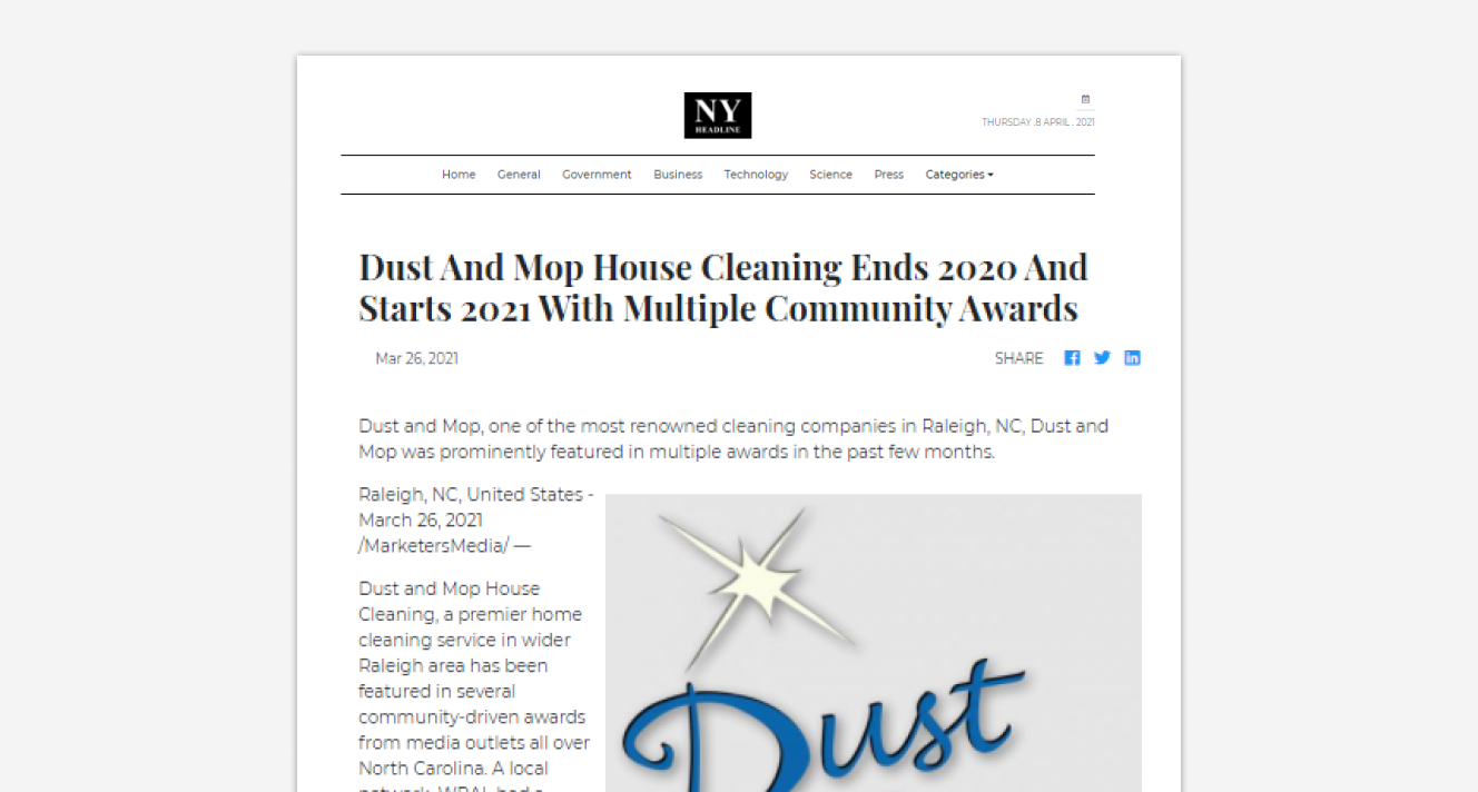Will Publish And Distribute Your Press Release To 50-US Based Sites