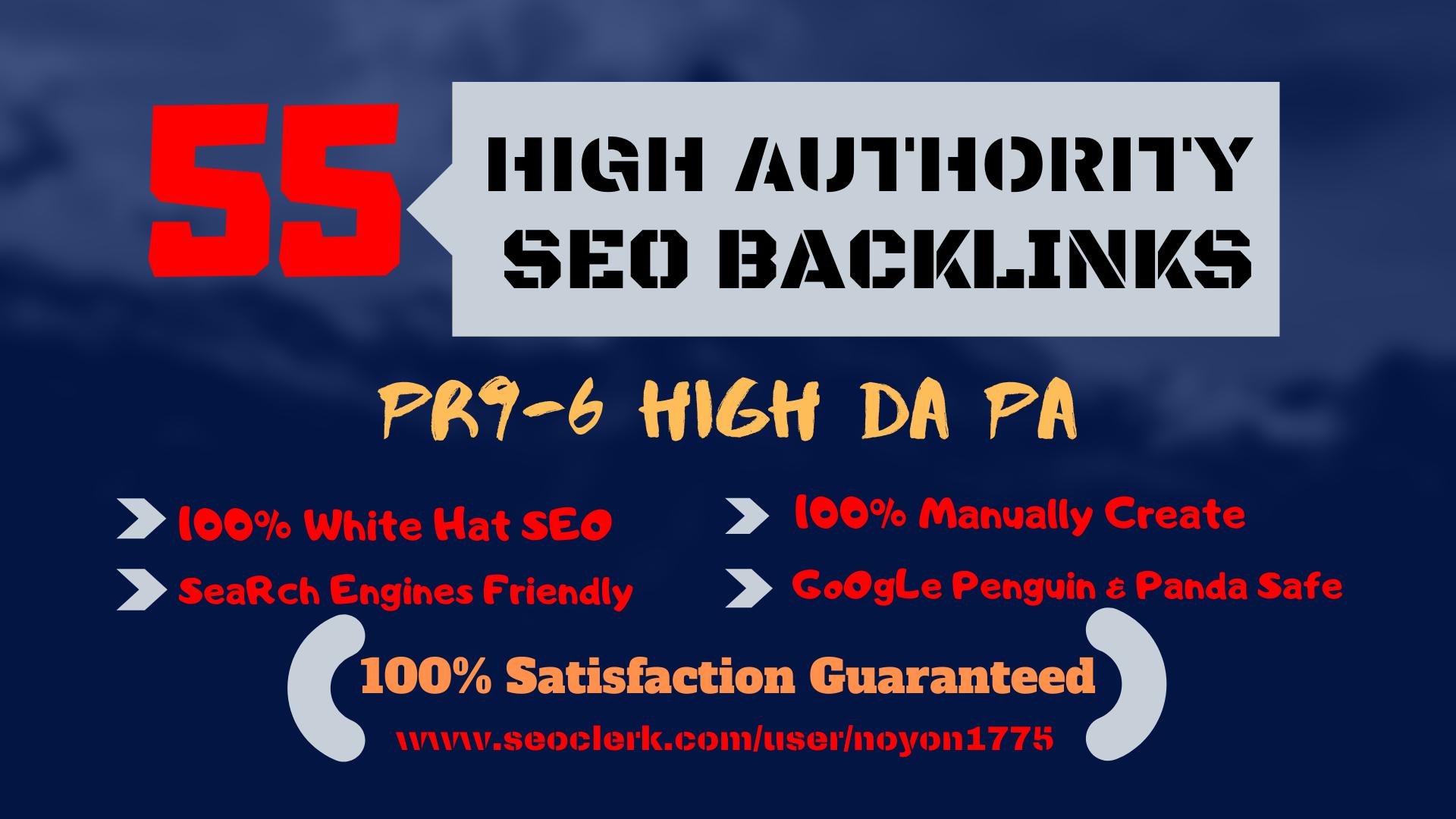 build high quality whitehat SEO backlinks