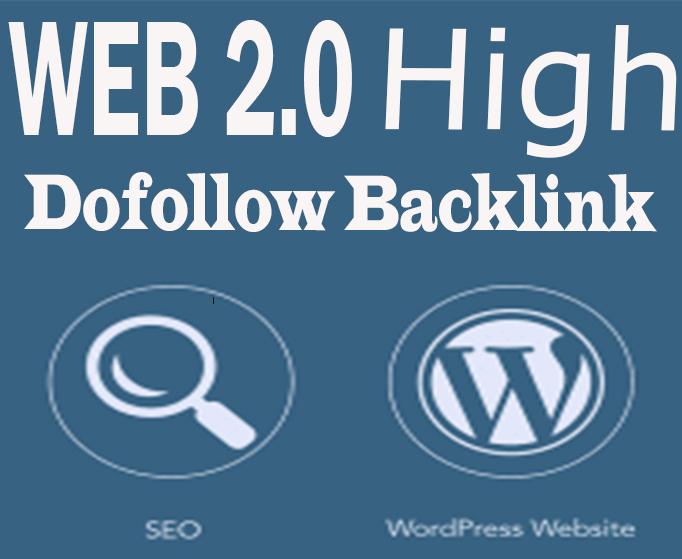 I Will Create 20 High Quality Web2.0 Backlinks