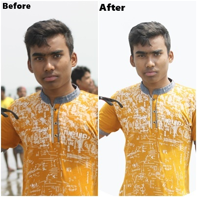 Remove/Change background of up-to 2 images-professional Work