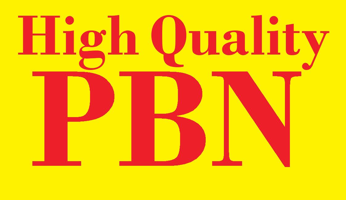 Build 15 High DR DA TF CF HomePage PBN Backlinks - Dofollow Quality Links