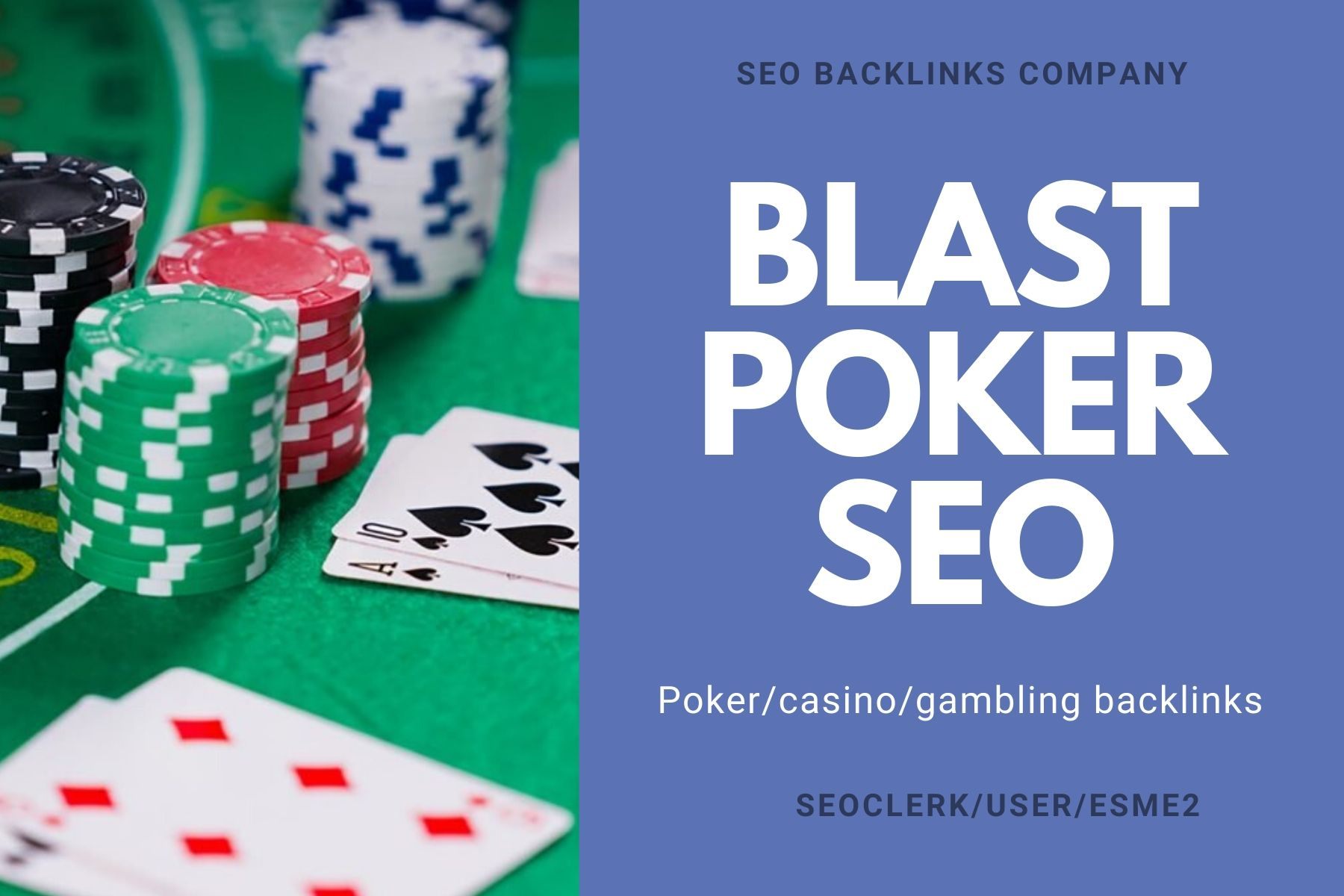 JUDI BLAST 888+ Poker/casino/gambling SEO backlinks ranking solution all algorithm safe
