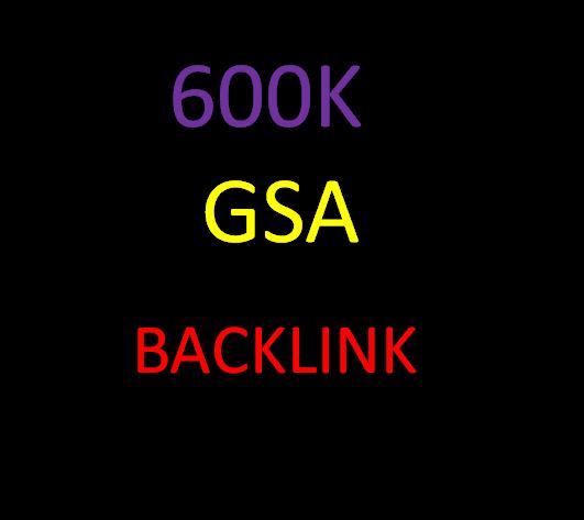 I will create GSA 600000 Verified SEO backlinks for you website rank on google