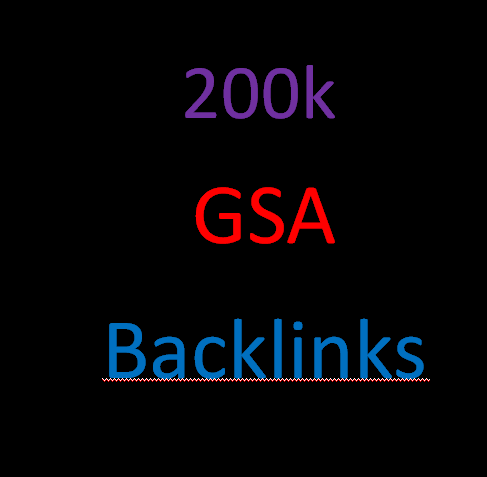 I will create 200,000 gsa ser back links for google seo